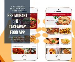 Grab The Best Restaurant App Design  V1 Technolo