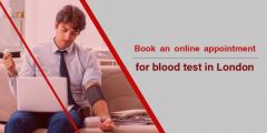 Book an online appointment for blood test in London