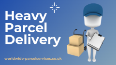 Heavy Parcel Delivery With Worldwide Parcel Serv