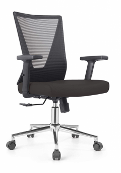 Low Back Grey Mesh Operators Revolving Chair