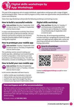 Free Digital Skills Workshops