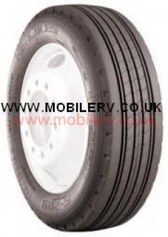 22570 R19.5 RV Tyre Free UK Delivery 22570 R19.5