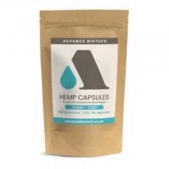 Buy Cheap Organic CBD Hemp Capsules - Advance Biotech