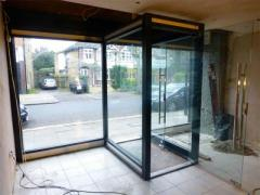 Glass Shop Fronts in London