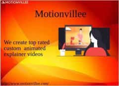 Motionvillee - A top leading Custom Animated Explainer