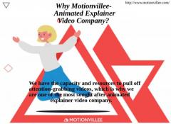 Why Motionvillee - Animated Explainer Video Company