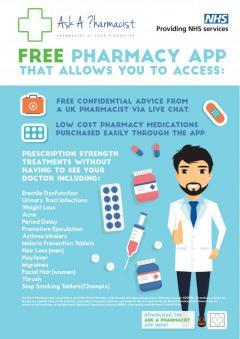Online Pharmacy, Consultant, Prescription