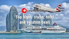 Top Low Price Deals on flights, hotels, cruises, holida