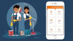 On Demand House Cleaning Services App
