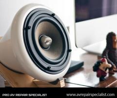 Pro Speaker Repairs Specialist in London  Pro AV Repair