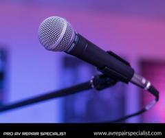 Microphone Repair Services in London  Pro AV Repair