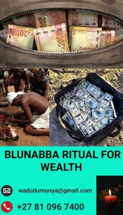 Balunabba ritual for wealth.