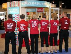 The Exhibitor Uniform Logo Embroidery