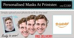 Personalised Masks At Printster.