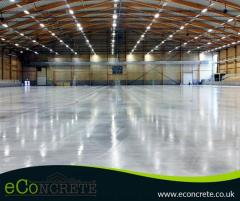 Polished Concrete Flooring-Econcrete