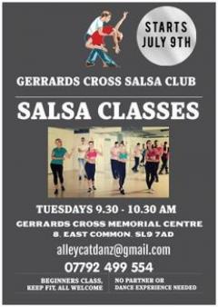 Salsa Dance Classes in Gerrards Cross