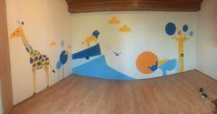 Professionally designed wall-paintings