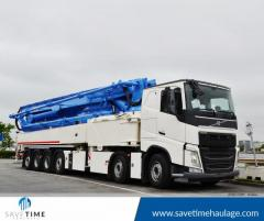 Avail of Concrete Pump Hire from Save Time Concrete