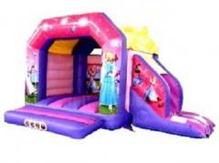 Princess Bouncy Castle Slide