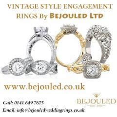 VINTAGE STYLE ENGAGEMENT RINGS By Bejouled Ltd