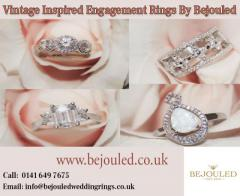 Vintage Inspired Engagement Rings By Bejouled Ltd