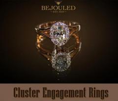 Cluster Engagement Rings  Bejouled Ltd