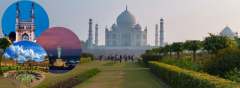 Tajmahal Tour From Hyderabad-Discoverthetimeless
