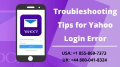 Yahoo Login Errors  How To Fix It