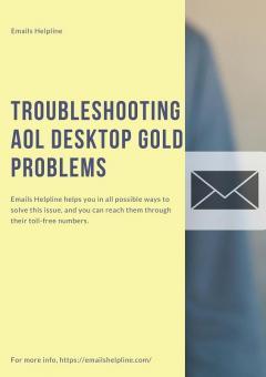 Troubleshooting Aol Desktop Gold Problems - Emai