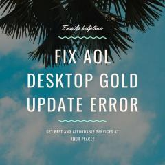 Fix Aol Desktop Gold Update Error - Emails Helpl