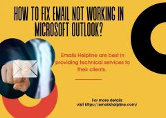 How To Fix Email Not Working In Microsoft Outloo