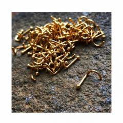 Shop Gold Nose Studs From Sacred Skin Body Jewellery