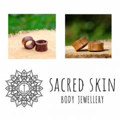 Shop Wooden Plugs & Tunnels- Sacred Skin Body Jewellery