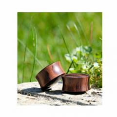 Buy Wooden Plug - From Sacred Skin Body Jewellery