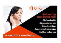 Office.comsetup - Enter product key - Download or Setup
