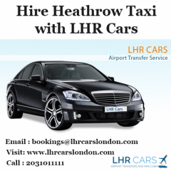 Hire Heathrow Taxi with LHR Cars
