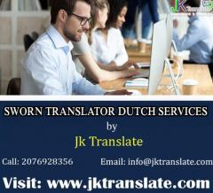 Sworn Translator Dutch Services by JK Translate