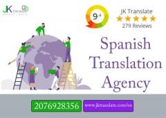 Certified Spanish Translation Agency