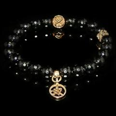 Black Onyx Bracelet  Objectiveness - Spirituality - Me