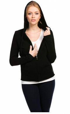 Citizen Cashmere Zip Up Hoodie for Women