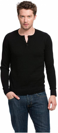 Full Sleeve Henley Shirts for Men by Citizen Cashmere