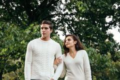 Citizen Cashmere Aran Jumper Sweater for Mens
