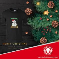 Mens Christmas Sheep T-Shirt