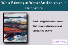 Win a Painting at Winter Art Exhibition in Hampshire