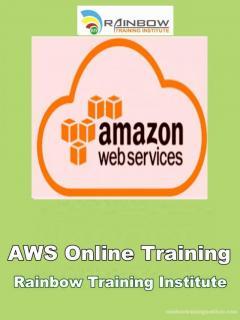 AWS Online Training  AWS Training