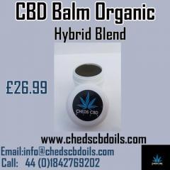 CBD Balm Organic Hybrid Blend