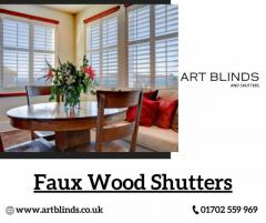 10 Percent Off on Faux Wood Shutters in Essex