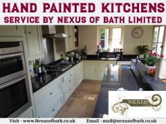 Hand Painted Kitchens Service By Nexus Of Bath L