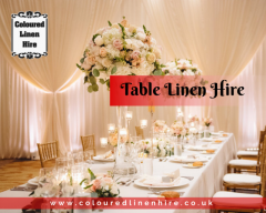 Unique and Classy Table Linen Hire Services