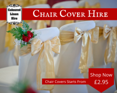 Hire Chair Covers Online In Uk